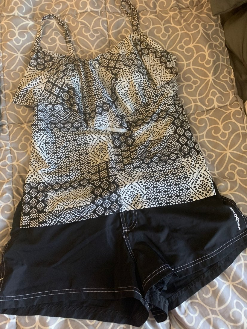 Swim top and shorts