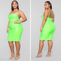 285c485d29f3d Fashion Nova Plus-Size Dresses | Mercari
