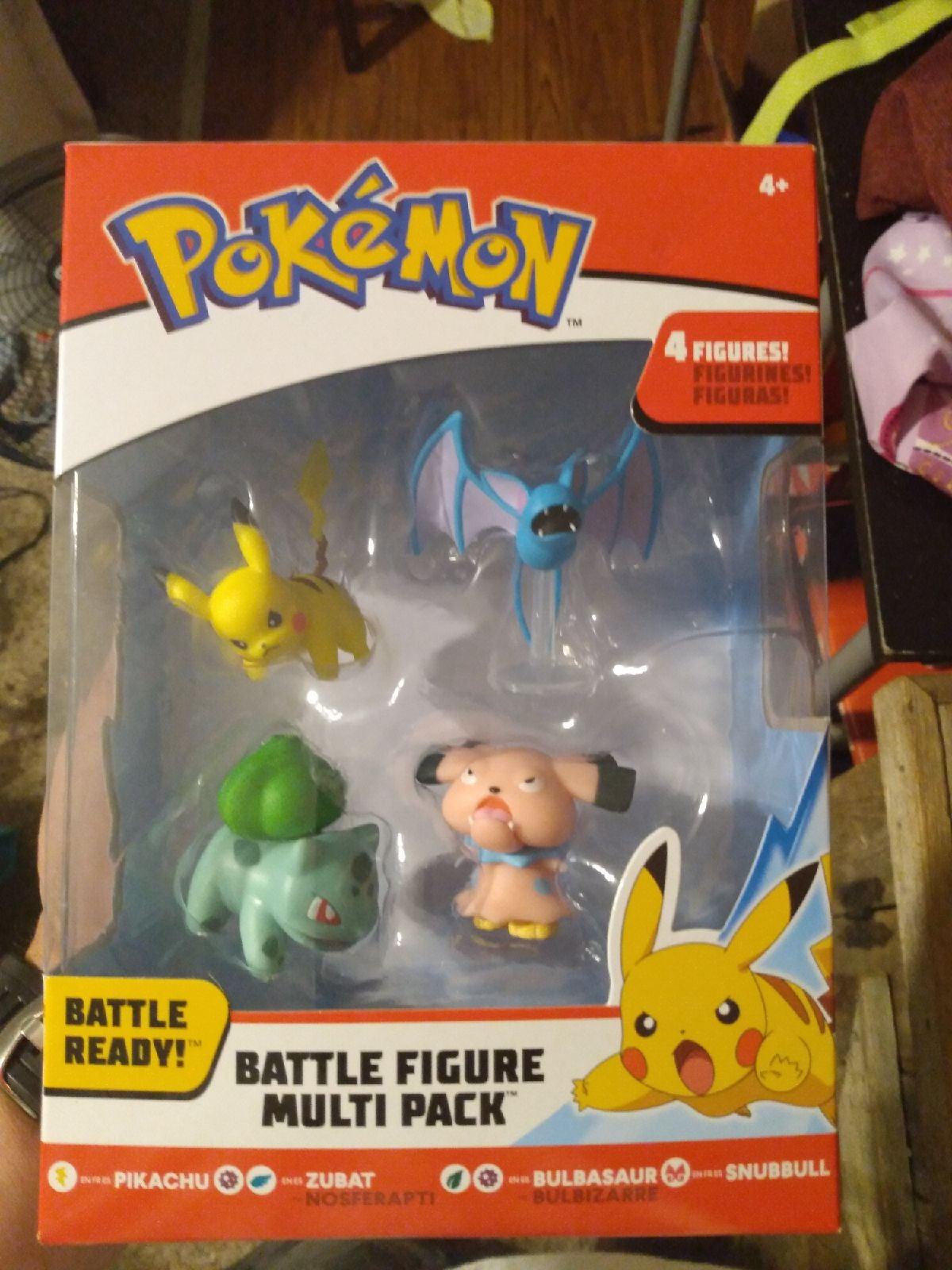 Pokemon Battle Figure Multi Pack