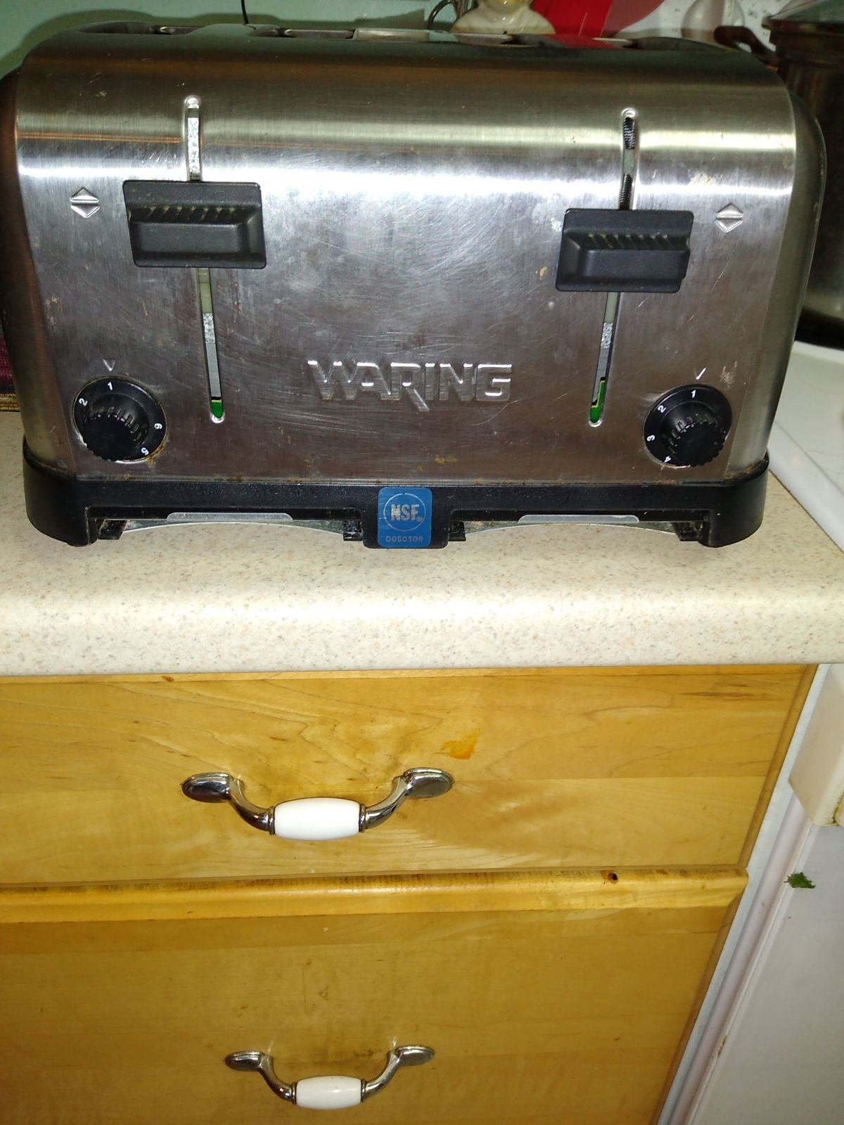 WARING COMMERCIAL 4 SLICE TOASTER!