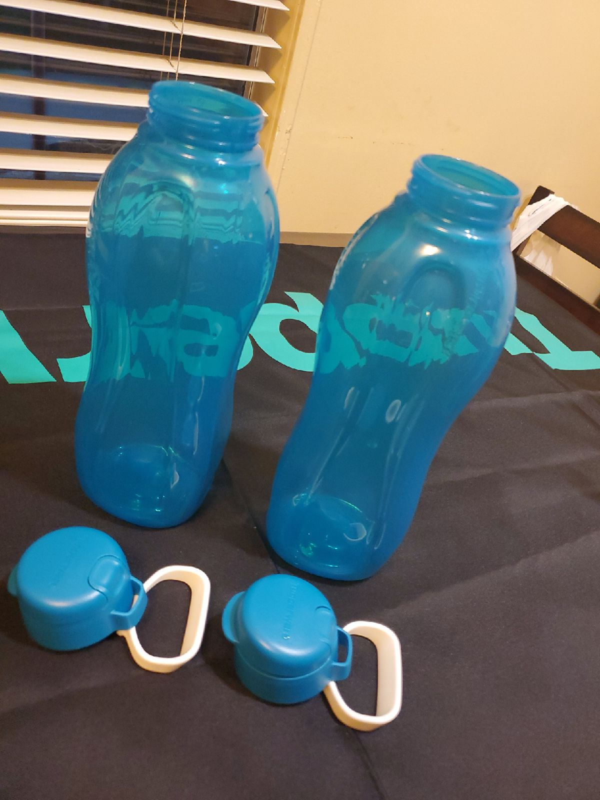 Tupperware 2 Piece Water Bottles