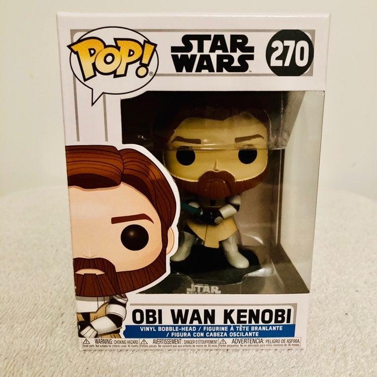 StarWars Clone Wars Obi Wan Kenobi Funko