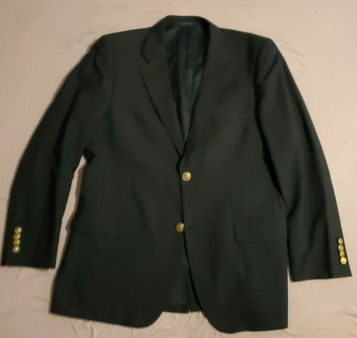 Club Room Men's Size 40R Navy Blazer