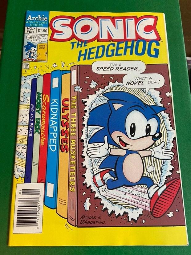 Sonic The Hedgehog #7/Archie Comics/NM