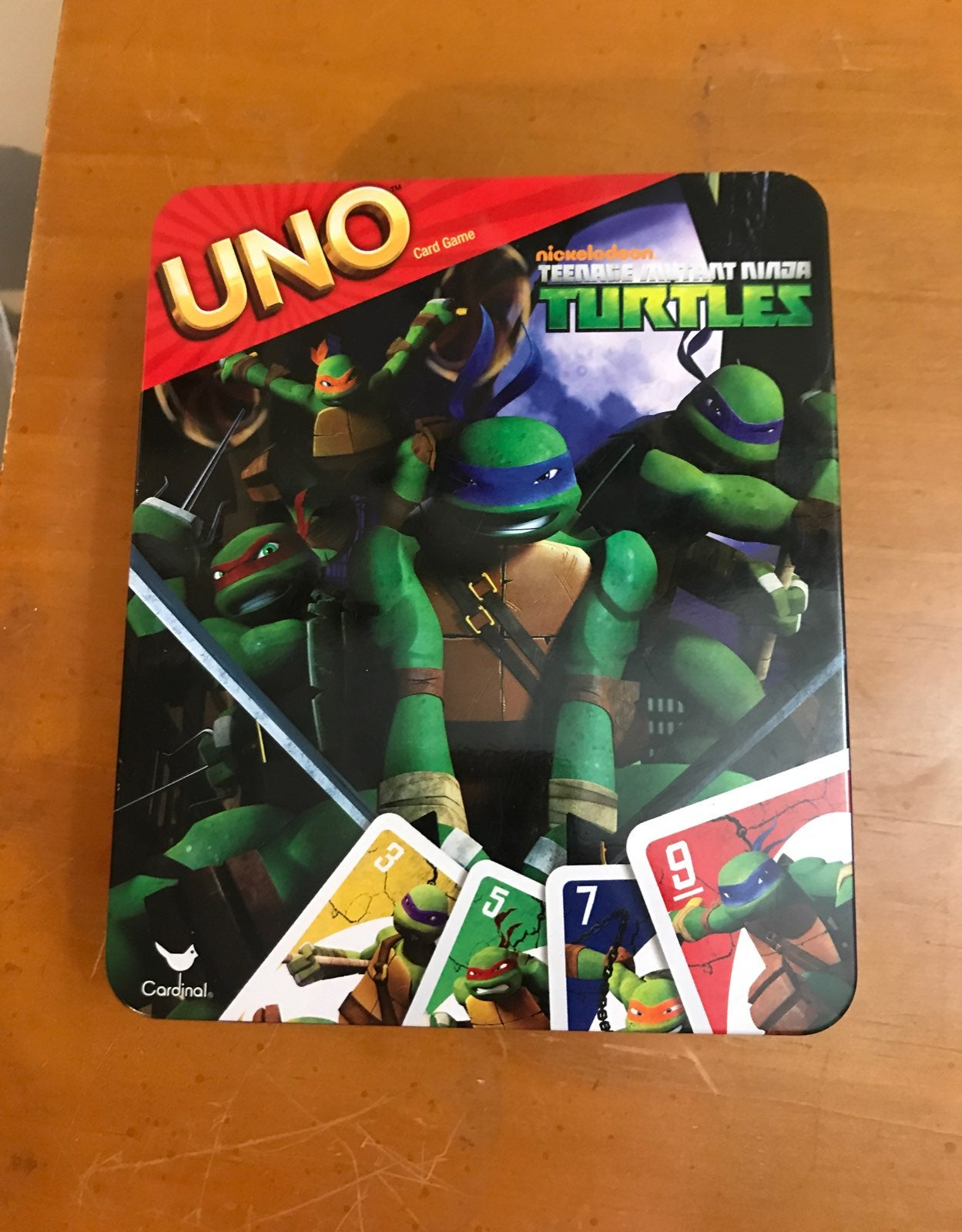 Teenage Mutant Ninja Turtles Uno
