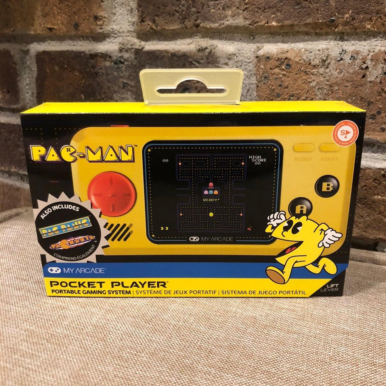 Pac-Man Pocket Player Portable NWT/NIB