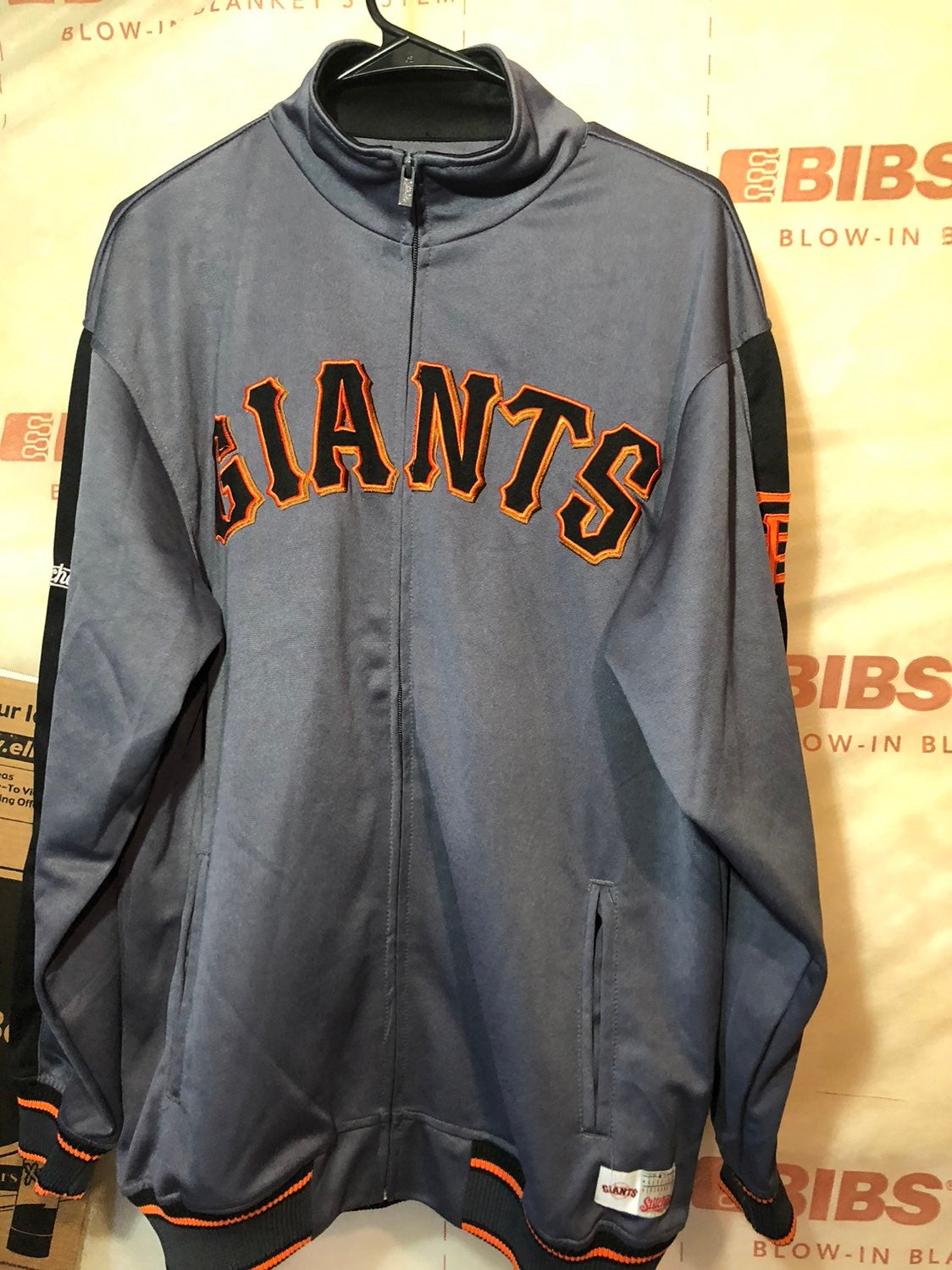 san francisco giants stitches jacket Med