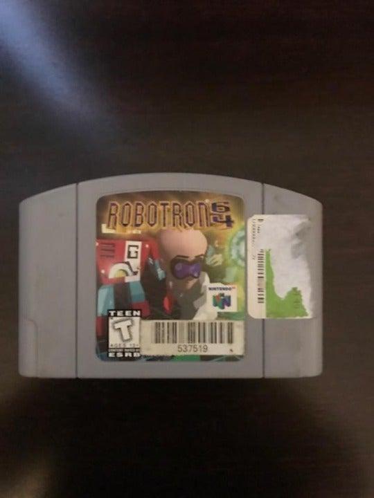 Nintendo N64 Robotron64 Game Cartridge