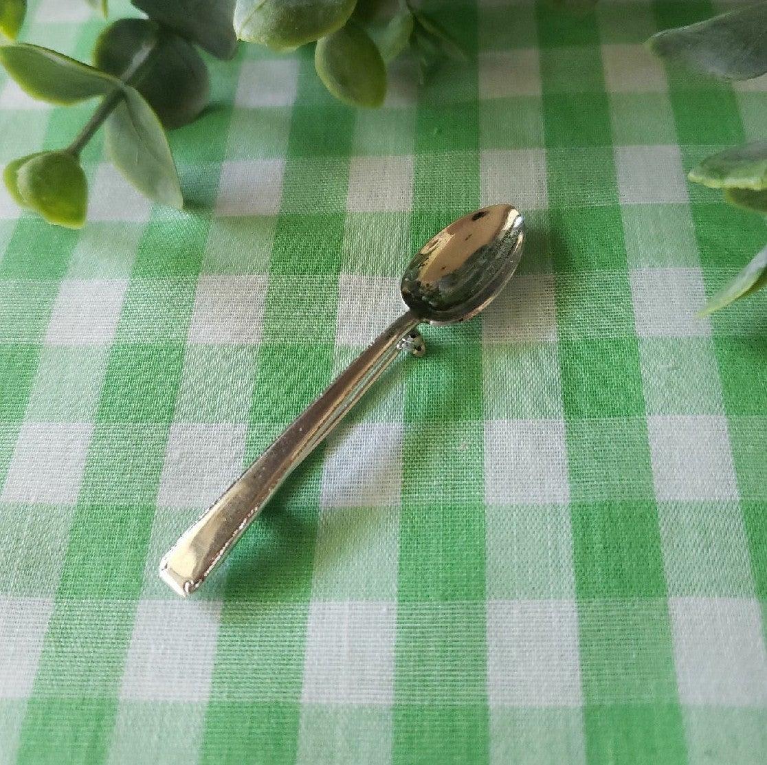 Vtg. Tiny Spoon Brooch