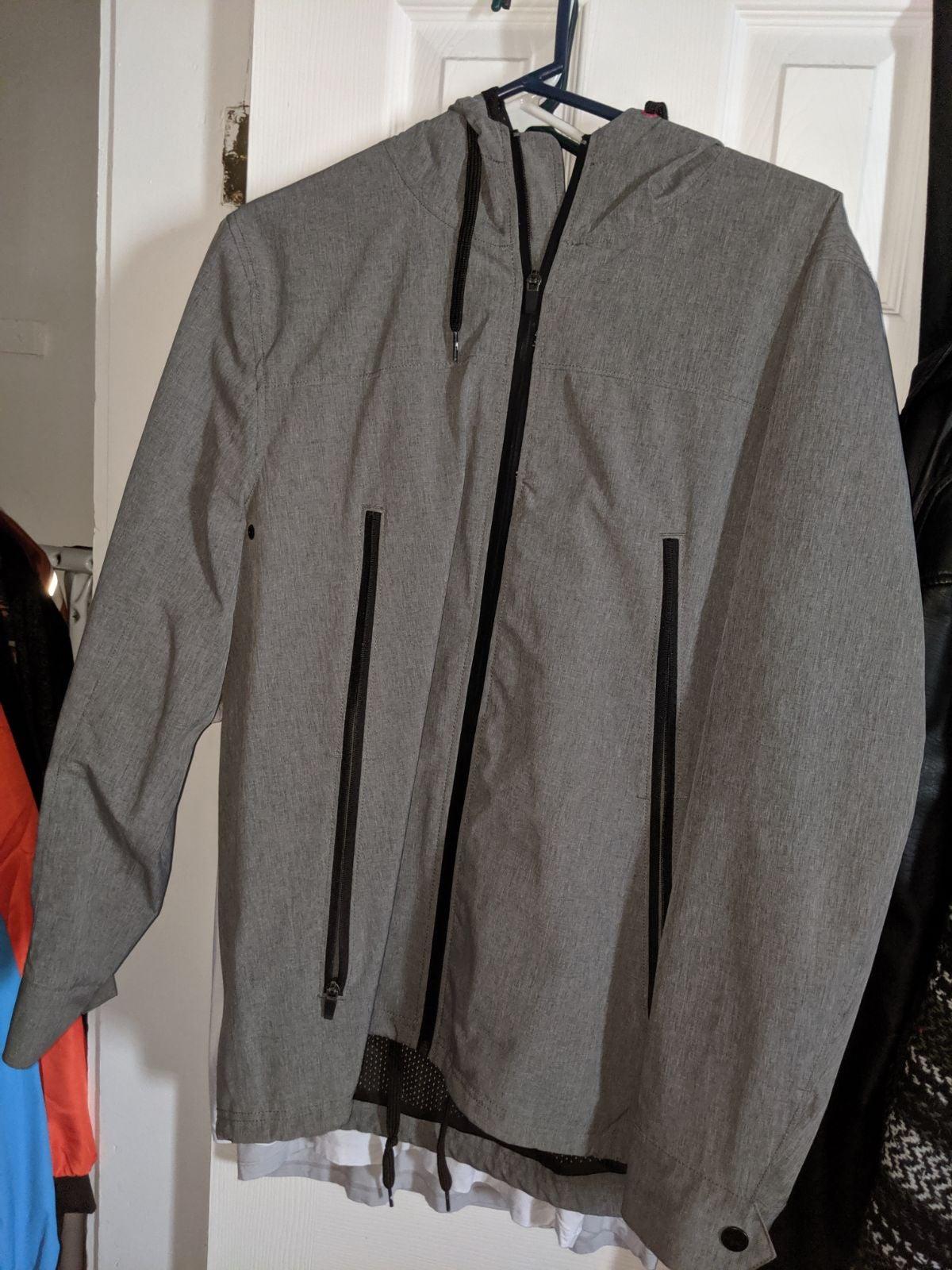 Modern amusement men's jacket LARGE