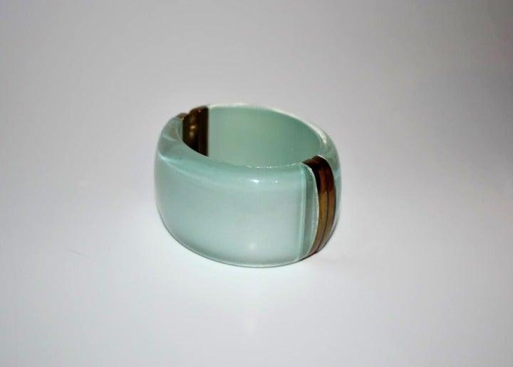 NEW Talbots cuff bracelet green