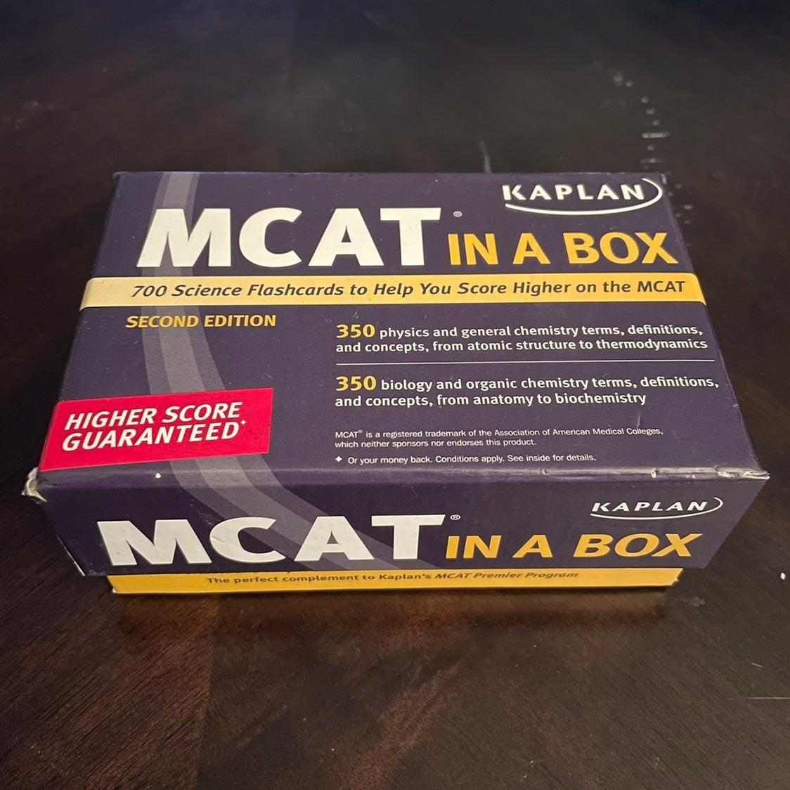 MCAT Flashcards Kaplan