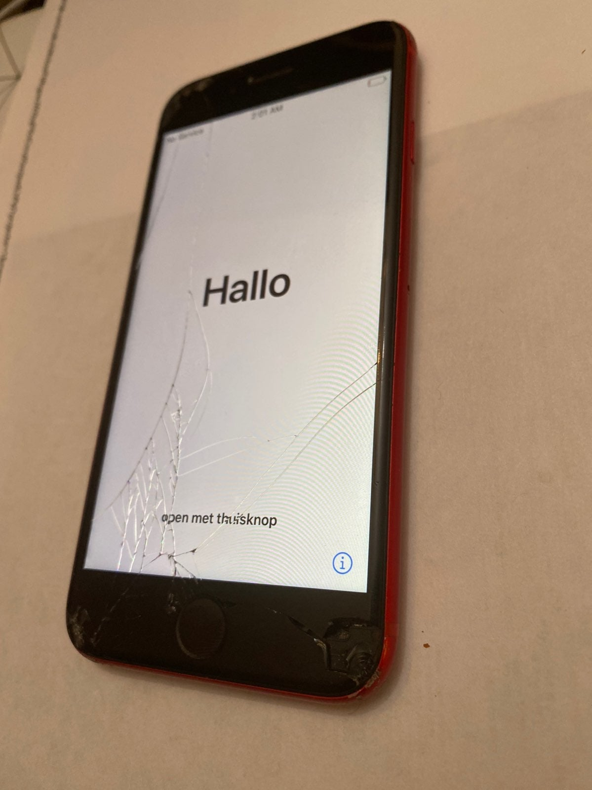 iPhone 8 PRODUCT (RED) for parts