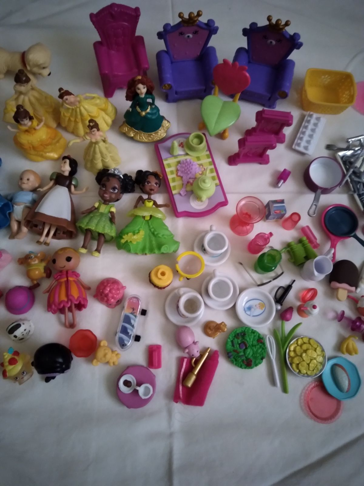 Mixed Lot of Disney and Variety of Toys
