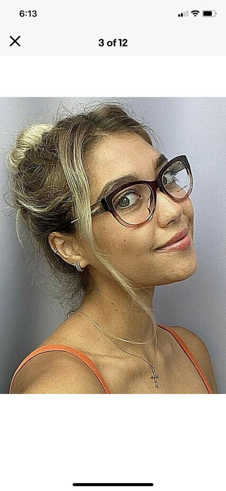 New BURBERRY Women's Eyeglasses Frame