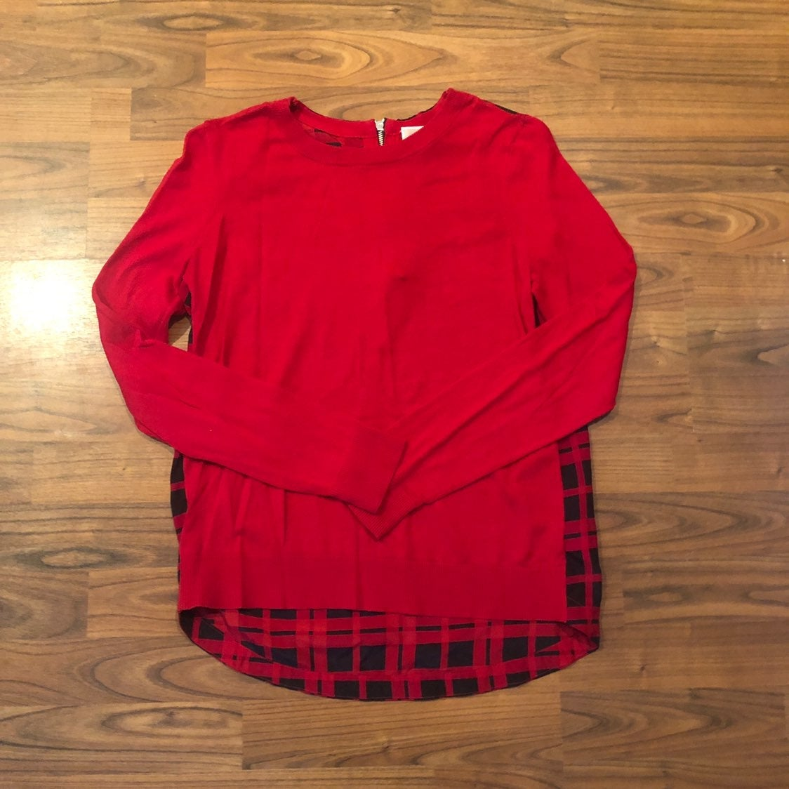 Michael Kors red top size extra small