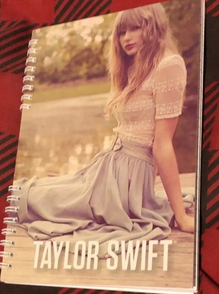 Taylor Swift notebook