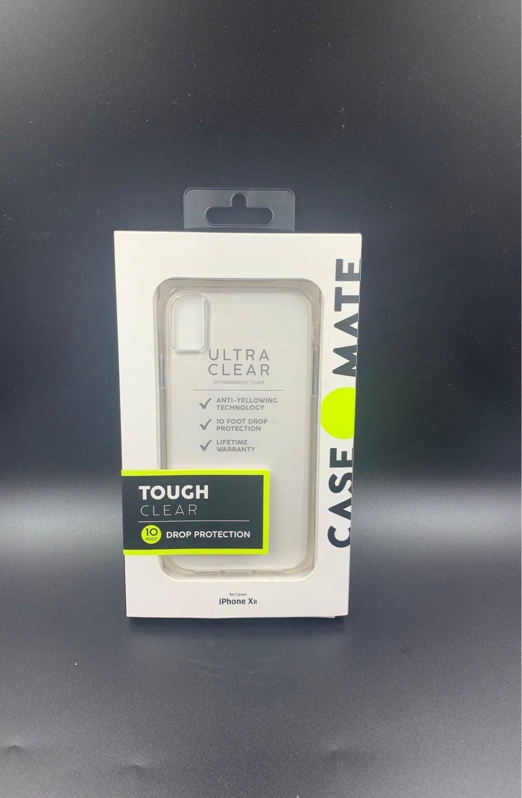 Casemate Tough Clear iPhone XR Case