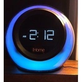 iHome Multicolor Alarm Clock Bluetooth
