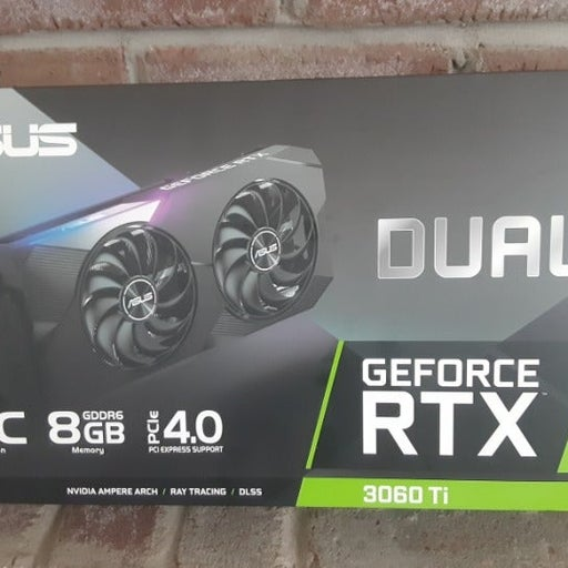 Asus GeForce RTX 3060 Ti Dual 8GB GDDR6