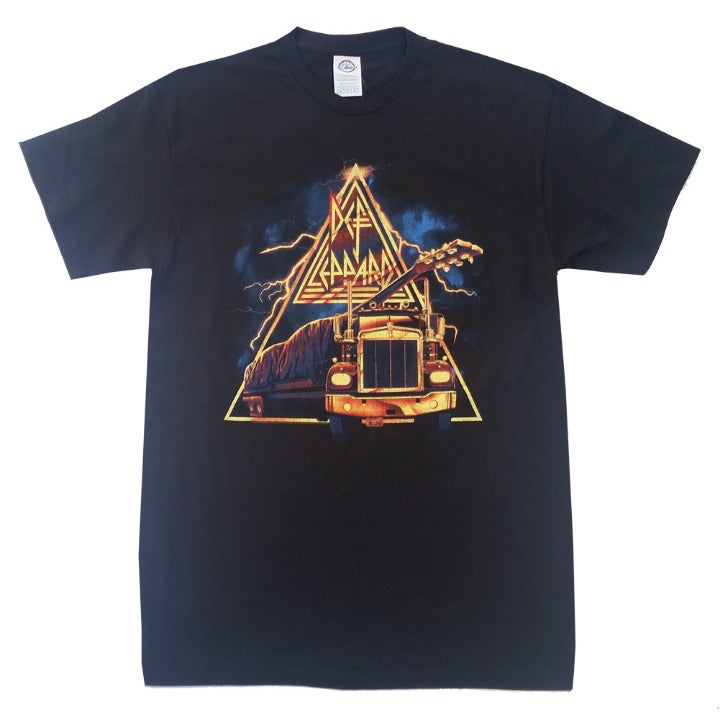 Def Leppard 18 Wheelin' T-Shirt XL