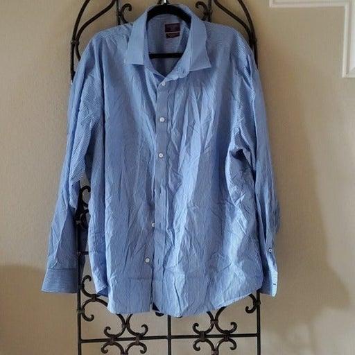 UNTUCKIT Men's Striped Shirt - Size XXXL