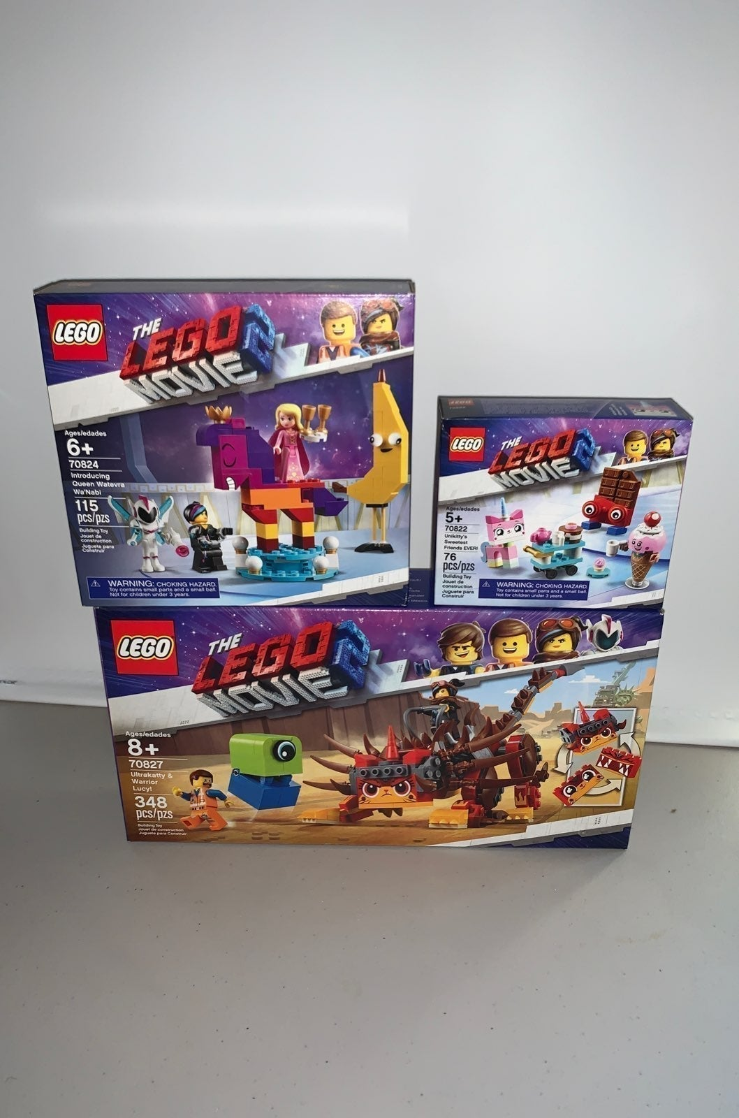 New! Lego movie 2 lot retired sets