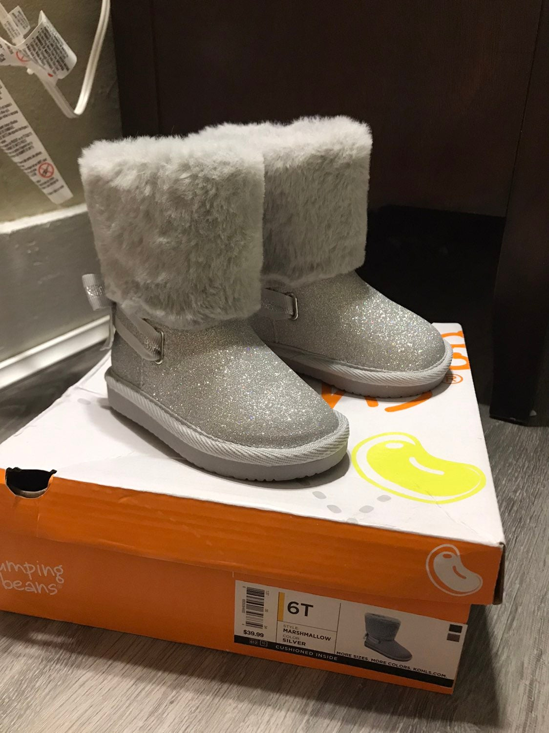 Toddler girl boots 6c