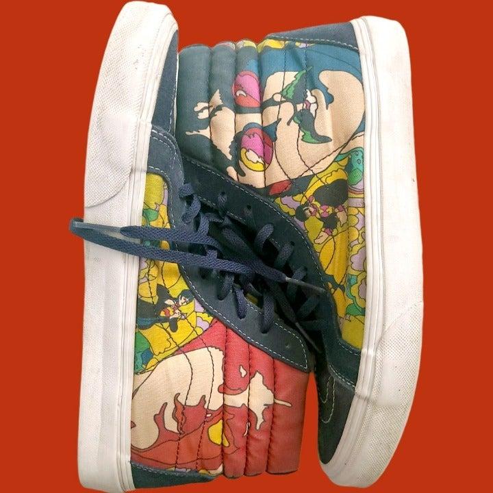 Vans x Beatles Sk8 Hi Size M 9 / W 10.5