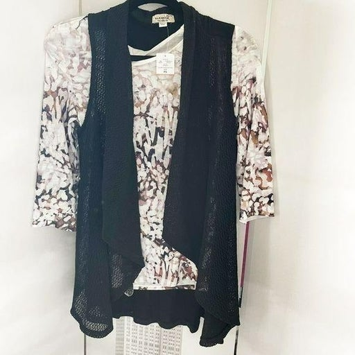 One World Clothing 3 Piece Top, Vest, Ne