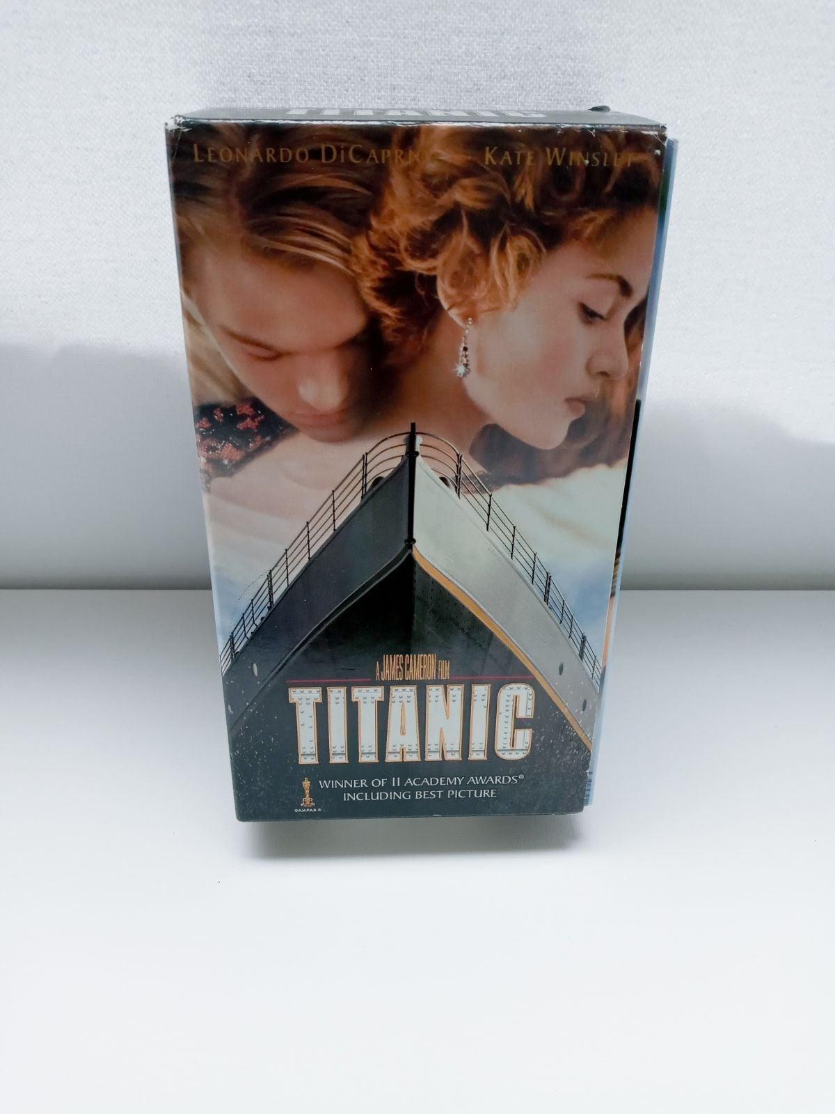 Titanic VHS