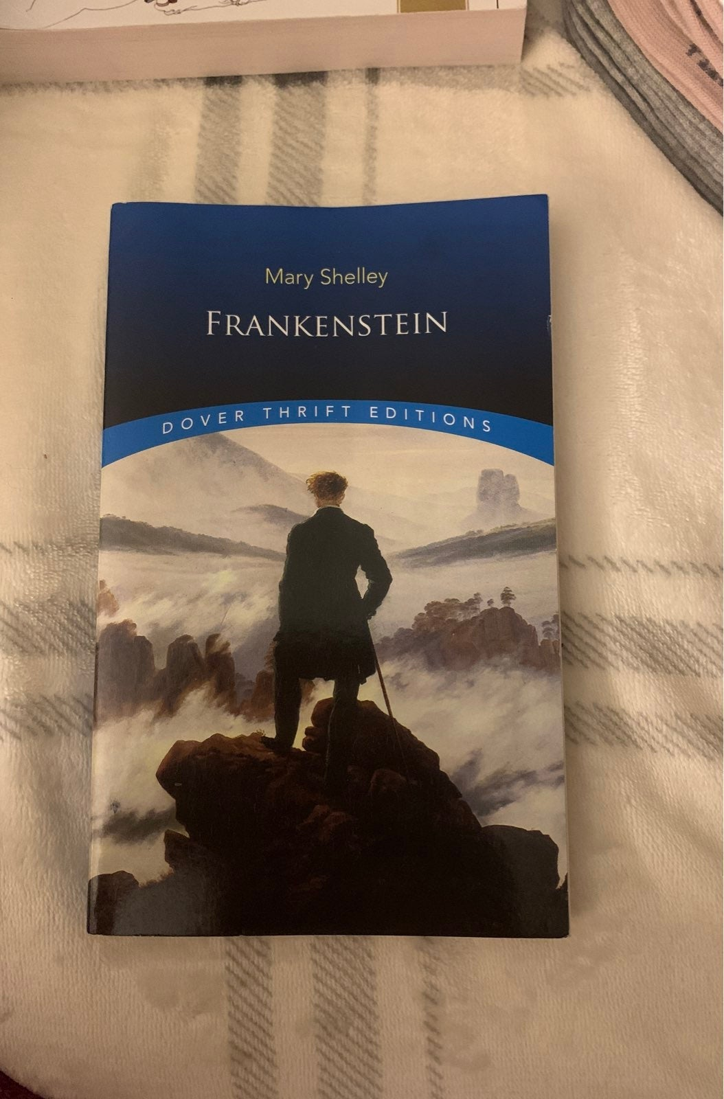 Frankenstein Mary Shelley book