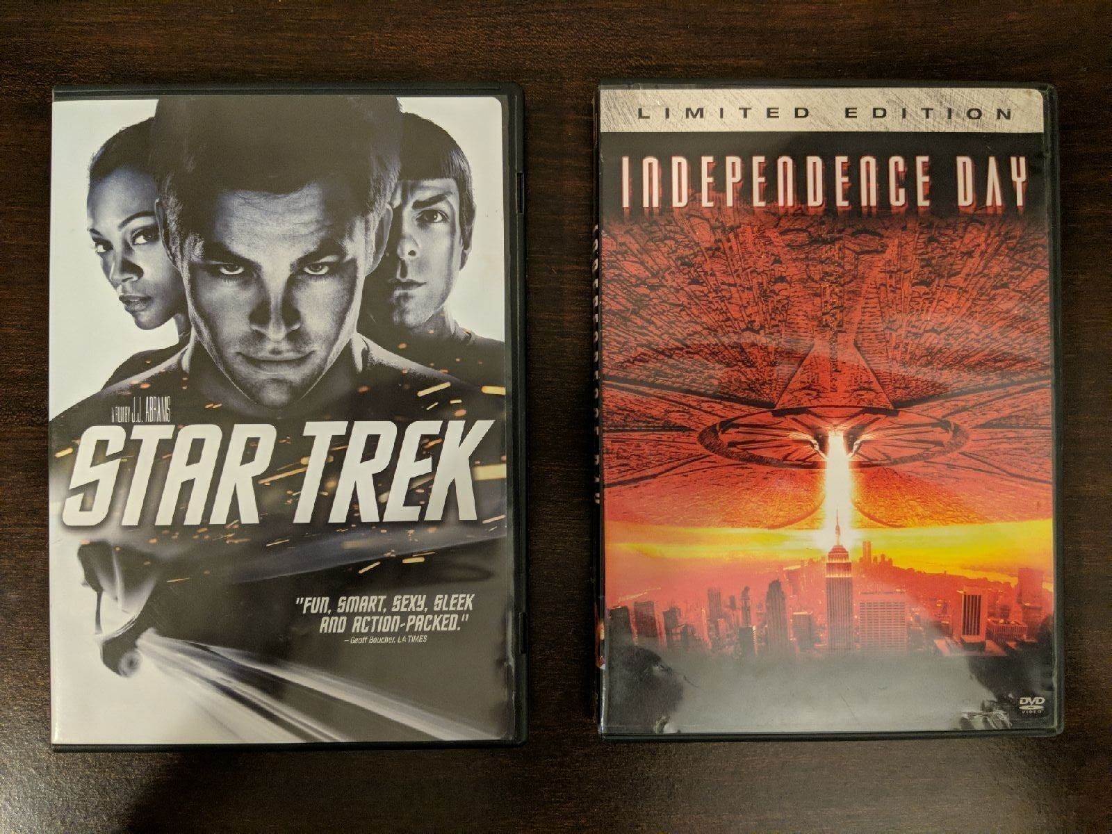 Star Trek / Independence Day Double Feat