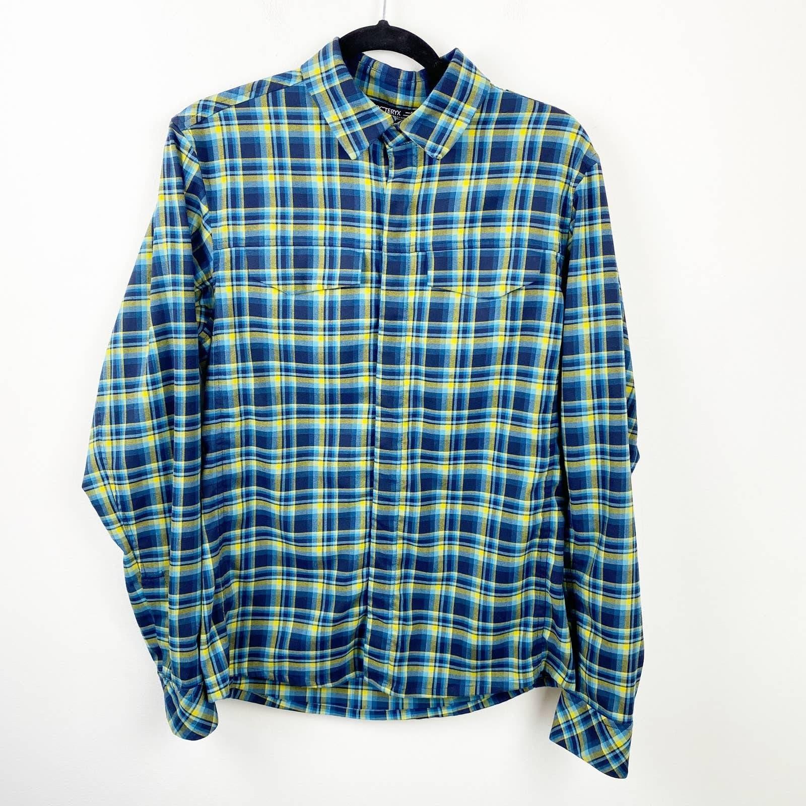 Arc'teryx Plaid Flannel Gryson Shirt