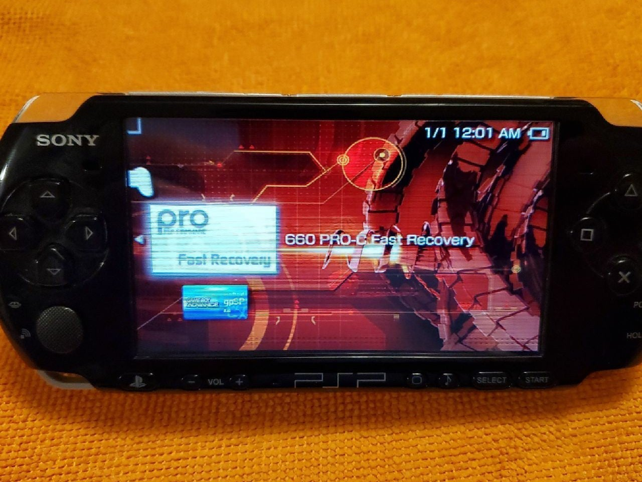PSP with Crisis Core