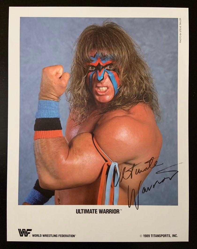 WWF Ultimate Warrior photo