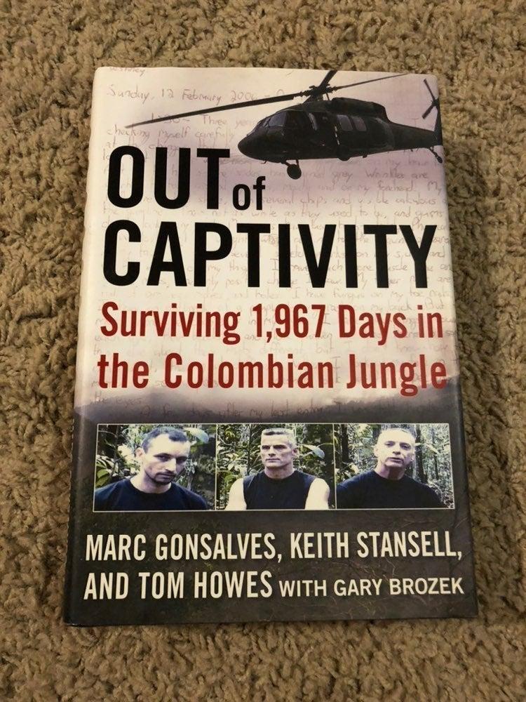 Out of Captivity Hardback Memoir
