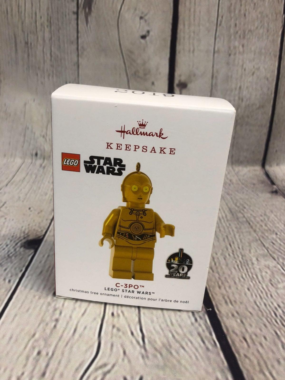 Hallmark C-3PO Lego Star Wars Ornament