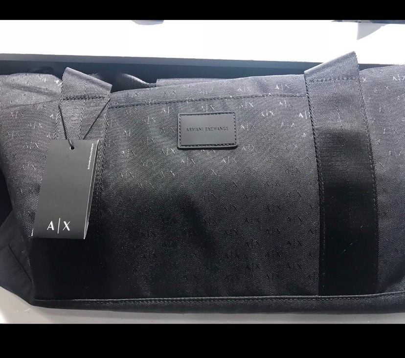 Armani Exchange Duffle Bag