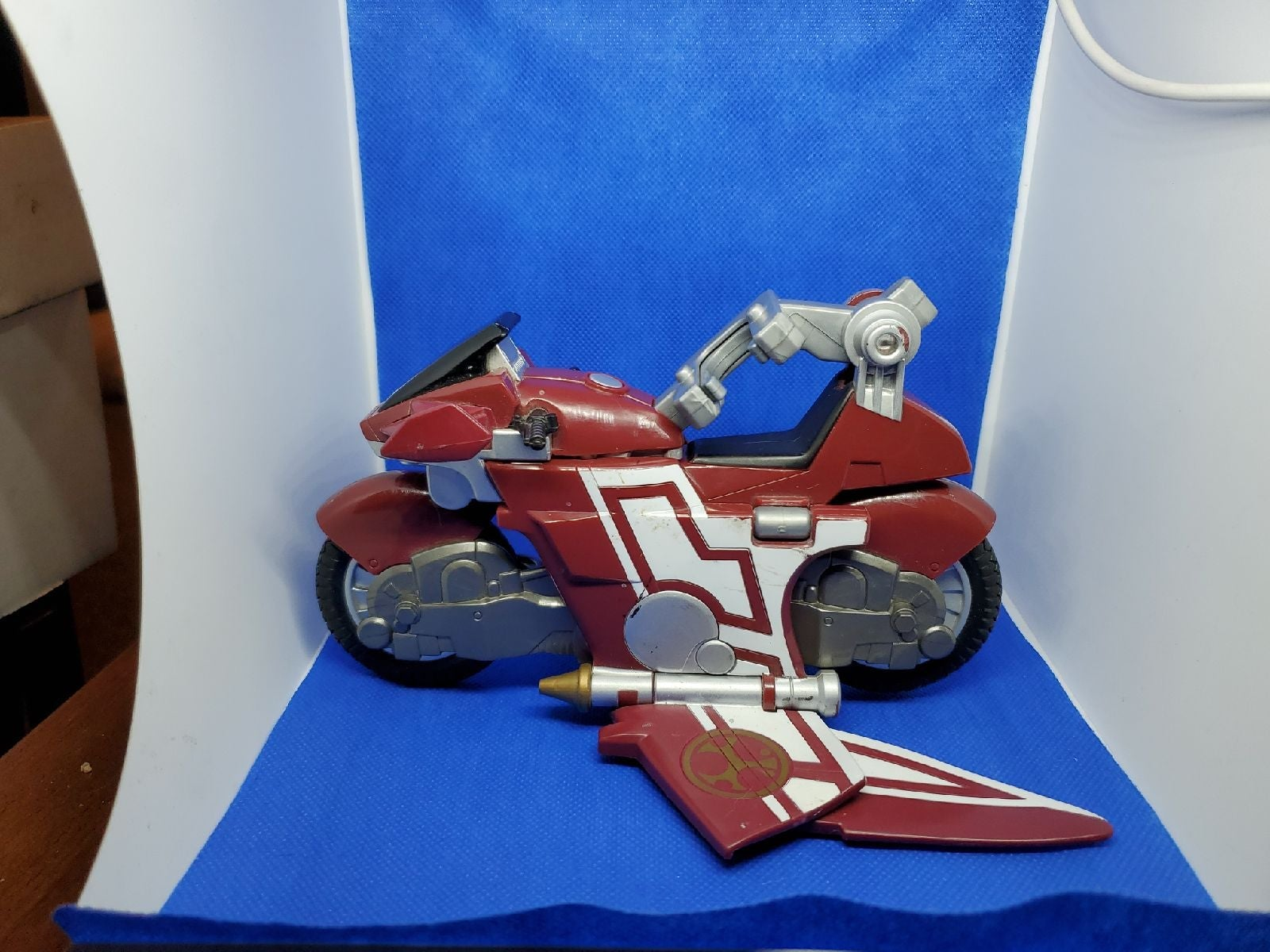 2002 Power Rangers Winged Bike/Glider