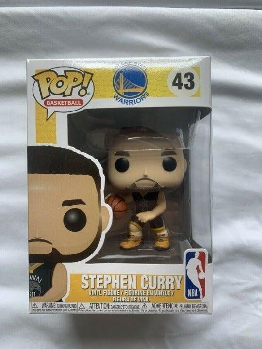 figura De Vinilo Stephen Curry de baloncesto #43 NBA Golden State Warriors FUNKO POP
