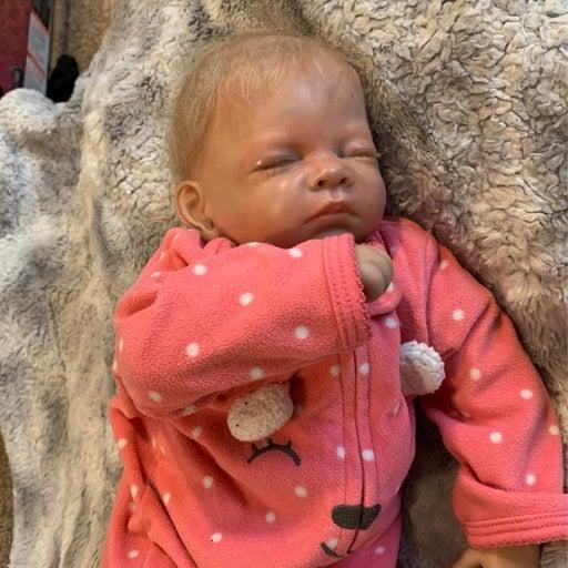 Ashton Drake Hush Little Baby (repainted&rerooted) | Reborn baby doll