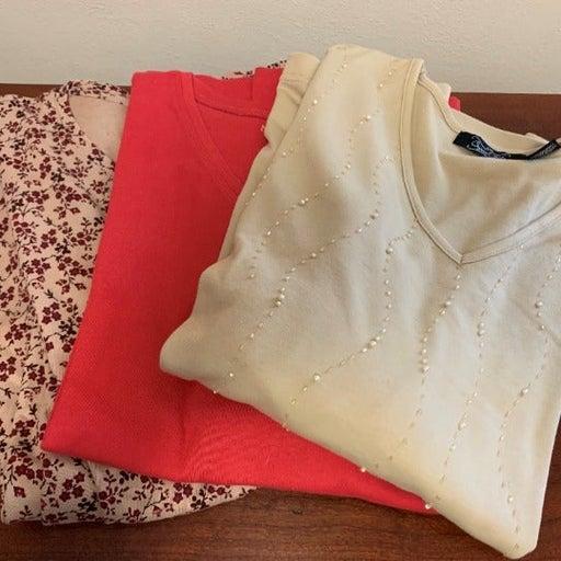 Crystal Kobe NorthCrest Shirt Lot of 3