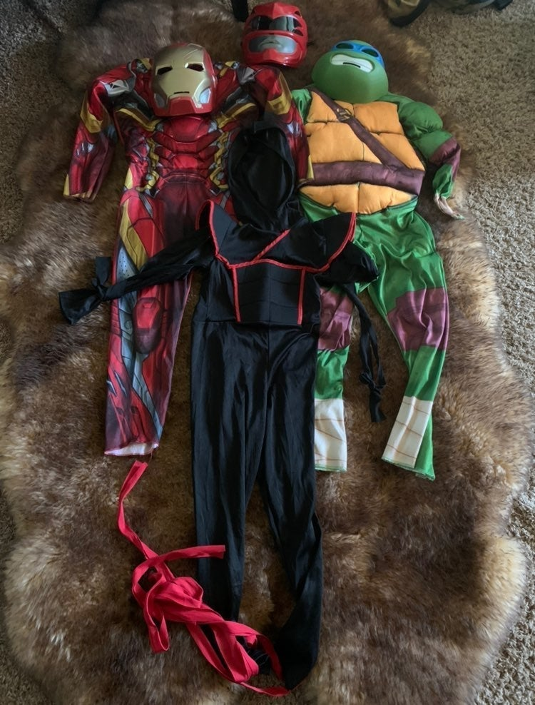 Superhero Costumes boys (Medium)