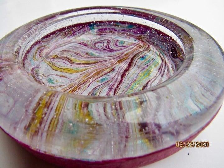 marbled dish