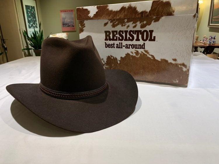 Vintage Resistol 4X Beaver Hat