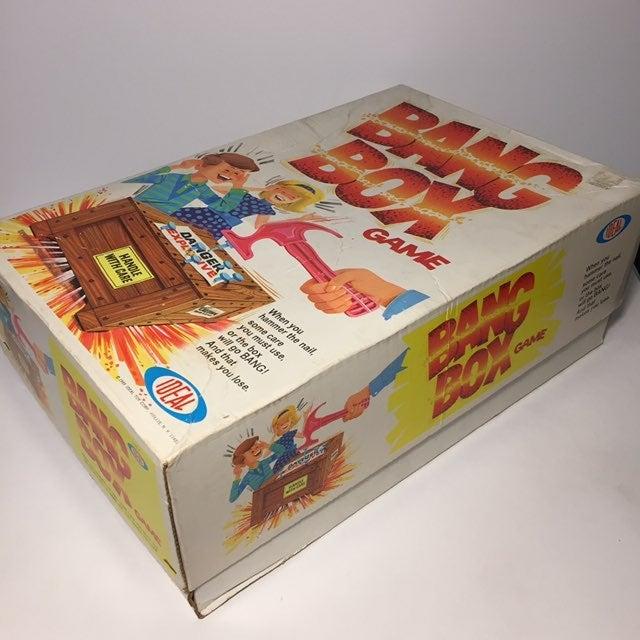 Ideal Bang Box Game Vintage 1969