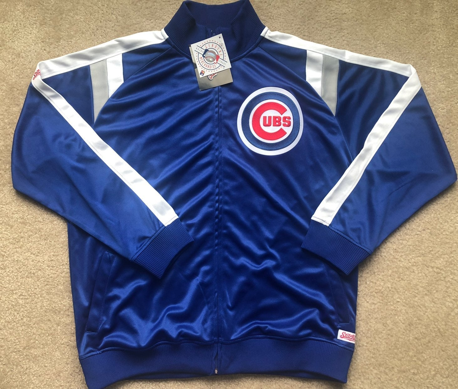 New Chicago Cubs warmup jacket