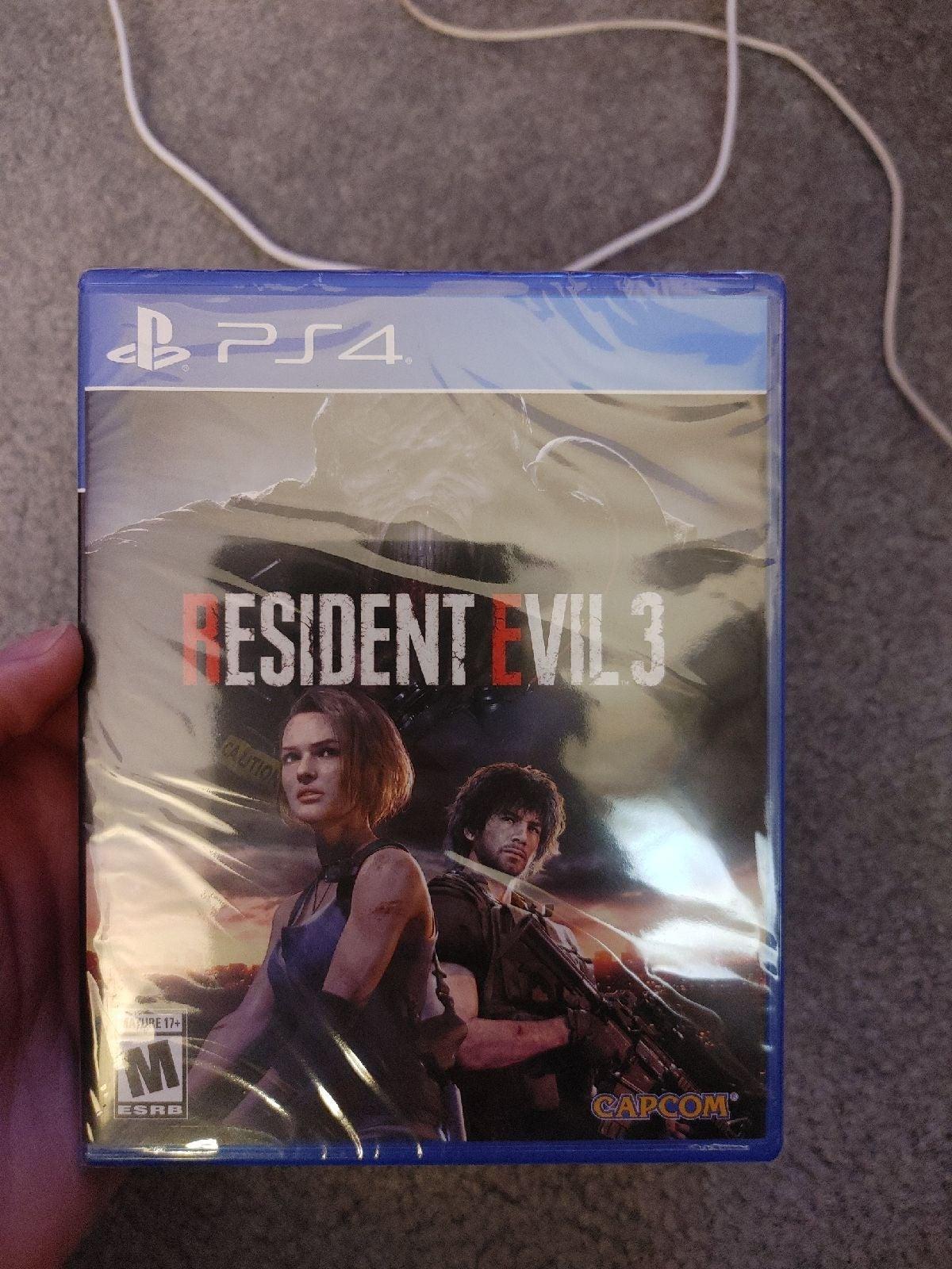 Resident Evil 3 Remake Playstation 4