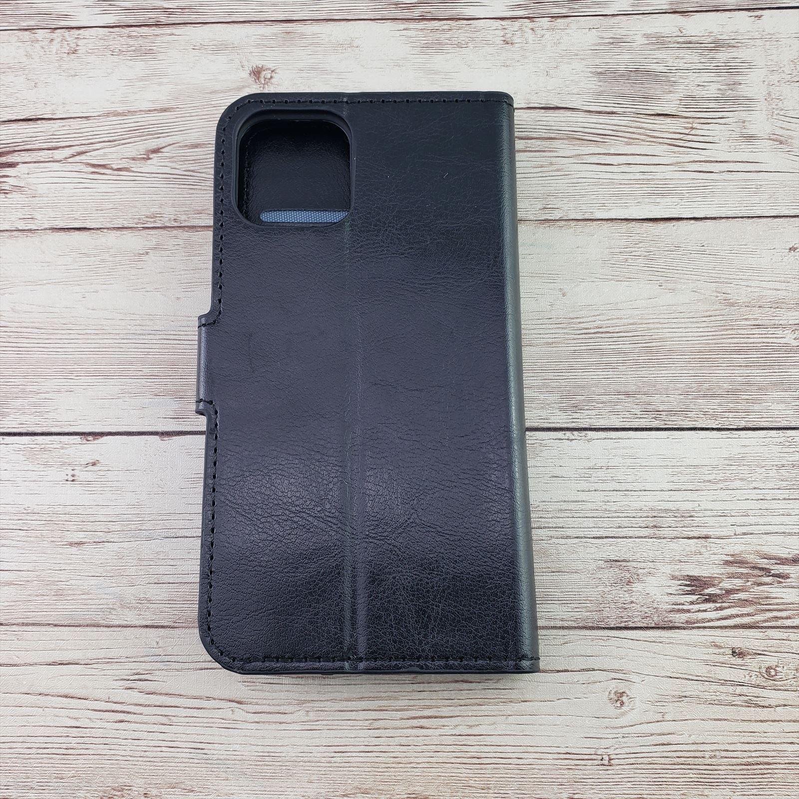 iPhone 12 Black Wallet Case